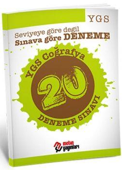 Metin Yayınları YGS Coğrafya 20 Deneme Sınavı