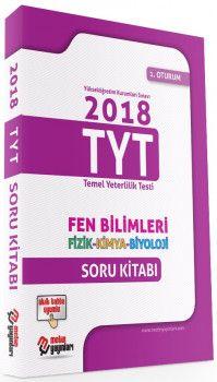 Metin Yayınları YKS 1. Oturum TYT Fen Bilimleri Soru Bankası