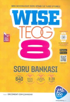MeToo Publishing 8. Sınıf TEOG İngilizce Soru Bankası