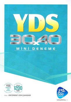 MeToo Publishing YDS 30X40 Mini Deneme