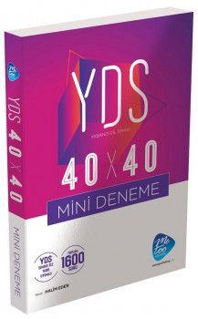 MeToo Publishing YDS 40X40 Mini Deneme