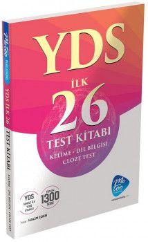 MeToo Publishing YDS Cloze İlk 26 Test Kitabı