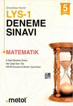 Metot Yayınları LYS 1 Matematik 5 li Deneme Sınavı