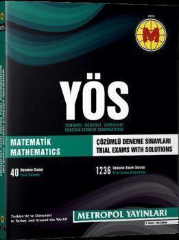 Metropol Yayınları YÖS Matematik Çözümlü Deneme Sınavları