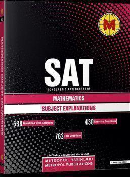 Metropol Yayınları SAT Mathematics Subject Explanations