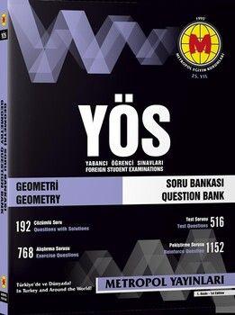 Metropol Yayınları YÖS Geometri Soru Bankası