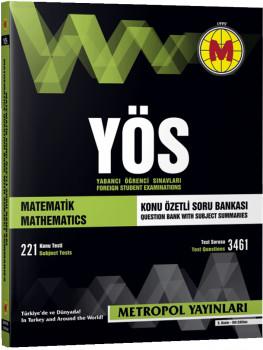 Metropol Yayınları YÖS Matematik Konu Özetli Soru Bankası