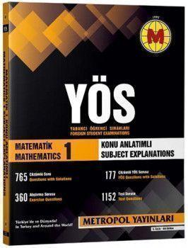 Metropol Yayınları YÖS Matematik 1  Örnek Çözümlü Konu Anlatımlı