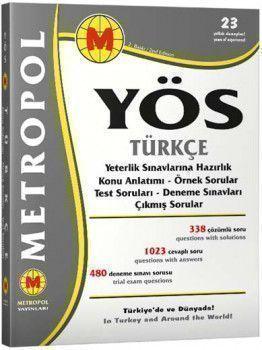 Metropol Yayınları YÖS Türkçe Konu Anlatımlı