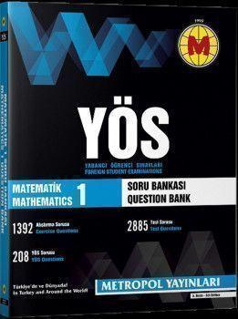 Metropol Yayınları YÖS Matematik 1 Konu Özetli Soru Bankası