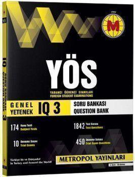 Metropol Yayınları YÖS IQ Soru Bankası 3