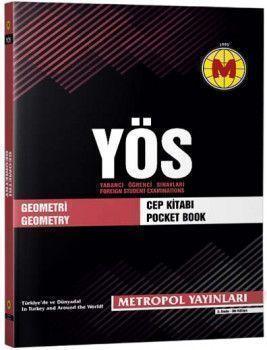 Metropol Yayınları YÖS Geometri Cep Kitabı