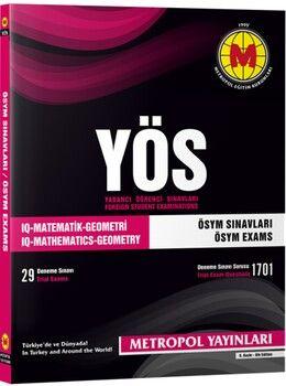 Metropol Yayınları YÖS 1981 2010 ÖSYM Sınavları