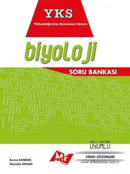 MF Kazanım Yayınları YKS 2. Oturum Biyoloji Soru Bankası