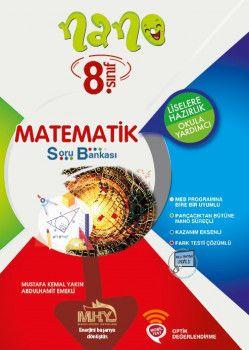 Mikro Hücre Yayınları 8. Sınıf Nano Matematik Soru Bankası