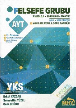 Mikro Hücre Yayınları YKS 2. Oturum AYT Felsefe Grubu Bilgi Süreçli Konu Anlatımı Soru Bankası
