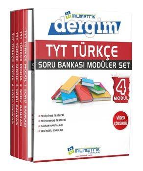 Milimetrik Yayınları TYT Türkçe Sınav KoçuSoru Bankası Seti
