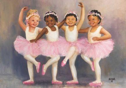 Minik Balerinler  Little Ballerinas 500 Parça Puzzle - Yapboz