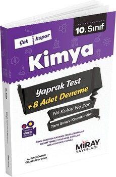Miray Yayınları 10. Sınıf Kimya Yaprak Test