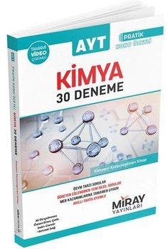 Miray Yayınları AYT Kimya Pratik Konu Özetli 30 Deneme