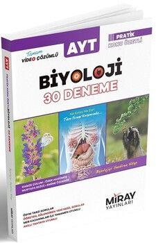 Miray Yayınları AYT Biyoloji 30 Deneme