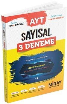 Miray Yayınları AYT Matematik Sayısal 3 Deneme