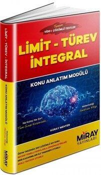 Miray Yayınları Limit Türev İntegral Konu Anlatım Modülü