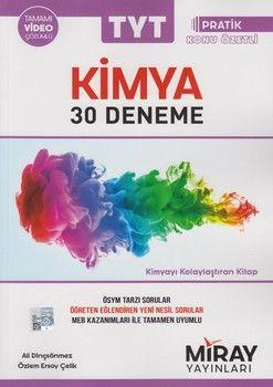 Miray Yayınları TYT Kimya 30 Deneme