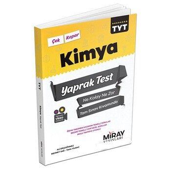 Miray Yayınları TYT Kimya Yaprak Test