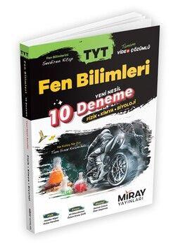 Miray Yayınları TYT Fen Bilimleri Yeni Nesil 10 Deneme