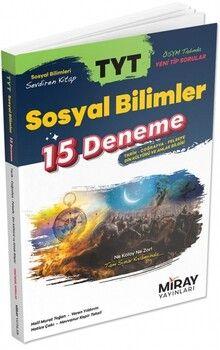 Miray Yayınları TYT Sosyal Bilimler 15 Deneme