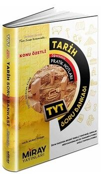 Miray Yayınları TYT Tarih Konu Özetli Soru Bankası