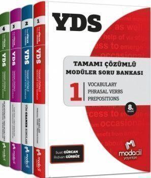 Modadil Yayınları YDS Tamamı Çözümlü Modüler Soru Bankası Seti