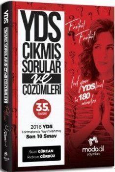 Modadil Yayınları YDS Çıkmış Sorular ve Çözümleri 35. Baskı