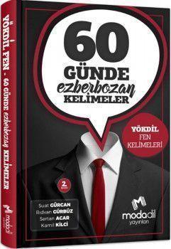Modadil Yayınları YÖKDİL Fen Bilimleri 60 Günde Ezberbozan Kelimeler