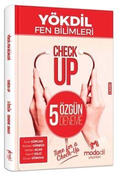 Modadil Yayınları YÖKDİL Fen Bilimleri Check Up 5 Özgün Deneme Sınavı