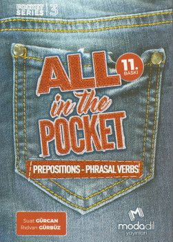 Modadil Yayınları ALL in the POCKET Prepositions Phrasal Verbs Cep