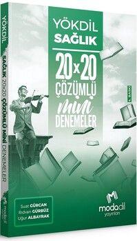 Modadil Yayınları YÖKDİL Sağlık Bilimleri 20x20 Mini Denemeler