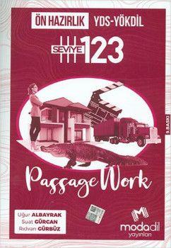 Modadil Yayınları YDS YÖKDİL Passage Work Ön Hazırlık Seviye 1 2 3