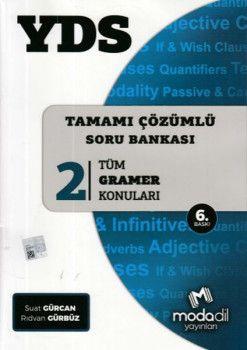 Modadil Yayınları YDS Tamamı Çözümlü Modüler Soru Bankası 2 Tüm Gramer Konuları