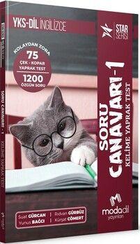 Modadil YayınlarıYKS DİL İngilizce Soru Canavarı 1 Kelime Yaprak Test