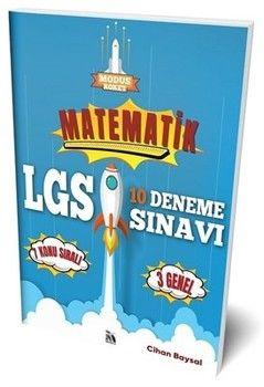 Modus Yayınları 8. Sınıf LGS Matematik Roket 10 Deneme