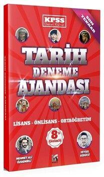 Modus Yayınları KPSS Tarih Deneme Ajandası 8 Deneme Çözümlü