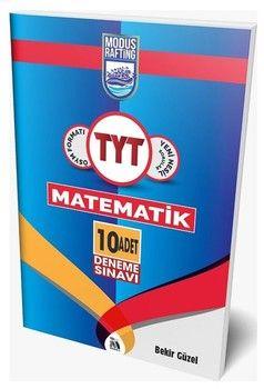 Modus Yayınları TYT Rafting Matematik 10 Deneme