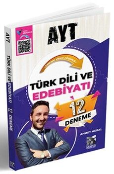 Modus YayınlarıAYT Türk Dili ve Edebiyatı 12 Deneme Video Çözümlü