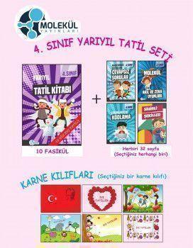Molekül Yayınları 4. Sınıf Yarıyıl Tatil Seti