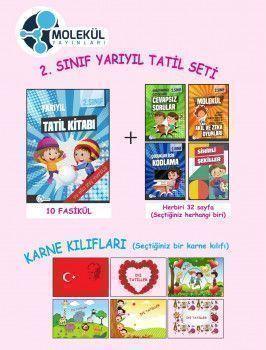 Molekül Yayınları 2. Sınıf Yarıyıl Tatil Seti
