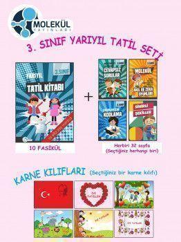 Molekül Yayınları 3. Sınıf Yarıyıl Tatil Seti
