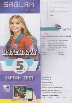 Molekül Yayınları 5. Sınıf Matematik Sağlam Yaprak Test