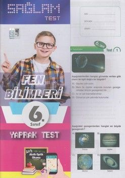 Molekül Yayınları 6. Sınıf Fen Bilimleri Sağlam Yaprak Test
